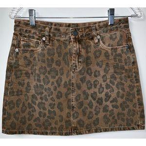 BlankNYC Jean Cheetah Mini